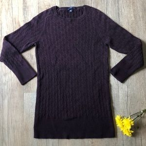 Gorgeous purple GAP fitted sweater Fall 07 line M